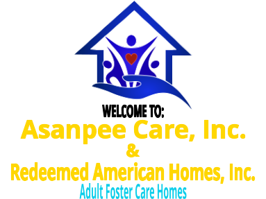 Asanpee Care/ Redeemed American Homes,Inc.